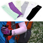 Womens Arm Sleeves Warmers Sun UV Protection Cycling Golf Bike Bicycle Running