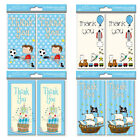 16 x Boys Thank You Cards 4 Different Designs to Choose Ideal For Birthday- 4400
