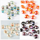 wholesale 50pcs Multicolors faceted Crystal Loose gemstone Beads 12-14mm