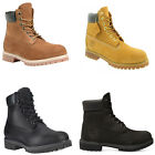 "NEW Mens Timberland 6"" Premium Full Grain Waterproof Leather Boots"