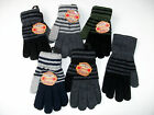 MENS WOOL BLEND STRIPED GLOVES