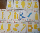 PACK 20 CARD SHAPES *** SEASONAL/ CELEBRATION- DIE CUTTER NOT 4 SALE
