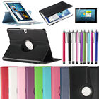 For Samsung Galaxy Tab 3 / Tab 2 10.1 inch Tablet PU Leather Case Cover Rotating