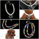 Chihuahua Pet Dog Puppy Cute Cat Faux Pearl Bead Fashion Necklace Jewelry Collar
