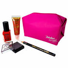 Barry M Makeup Gift Set Fabulous Kit Eye Shadow Cosmetic Nail Polish 5 Pieces