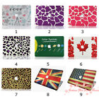 New 9 Pattern Design Matte Rubberized Hard Case For Apple Macbook Air 13 inch