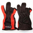 NEW!1Pair FISHING GLOVE TACKLE Sport Non-Slip gloves red