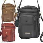 UNISEX GENUINE LEATHER TRAVEL BAG IN 3 COLOURS (REF3728), RED, TAN, BLACK