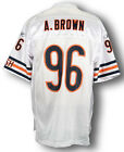 Reebok NFL Football Men's Chicago Bears ALEX BROWN # 96 Replica Jersey