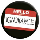 New Paramore My Name Is Ignorance Badge