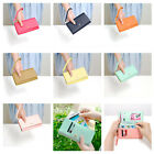 Women Lady Envelope Card Wallet Faux Leather Purse Case Cover For Phone 0909