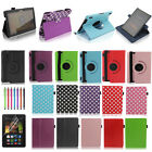 """Leather Smart Case Cover Stand for Amazon Kindle Fire HD HDX 7"""" with Sleep Wake"""