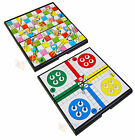 NEW Snakes and  Ladders or Ludo Board Traditional Family Childrens & Kids Game