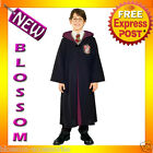 CK127 Licensed Harry Potter Deluxe Gryffindor Robe Child Boy Girl Kids Costume