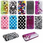For Alcatel One Touch Fierce T-Mobile Cool New Design Case Phone Cover + Stylus