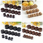 Pick Gauge Organic Wood Double Wooden Flared Saddle Ear Tunnels Plugs Stretcher