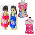 Girls Kids Hot Pink Swimsuit 2-6Y Swimwear Swimming Cute Clothes Summer