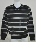Tommy HOMME PULL NEUF 100% Coton NOIR GRIS COLV tailles S, XXL dispos 2015