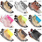 24 Pcs Wooden Brushes Set Cosmetic Make Up Brush Applicator Set + Case