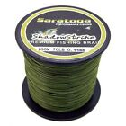 NEW! 8Strands Super Strong Braided Sea Fishing Line agepoch Army Green 100M AG