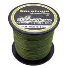 Super Strong  8Strands Braided Dyneema Sea Fishing Line Agepoch 100M Army Green