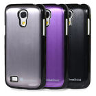 New Brushed Metal Aluminum Back Hard Case Cover For Samsung Galaxy S4 Mini I9190