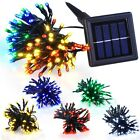 60 100 LED Solar Power String Lights Party Outdoor Garden Decor Waterproof Opt