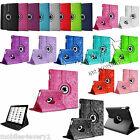 360 Degree Rotating Smart Stand Leather Case Cover For Apple iPad Mini 1 2 3