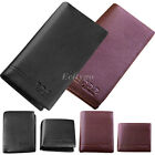 Fashion New Mens Wallet Soft Genuine Leather Luxury Bifold Purse Card Holder