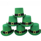 ADULTS IRISH HATS LEPRECHAUN FANCY DRESS ST PATRICKS DAY TOP HAT PADDY IRELAND