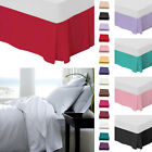 Plain Fitted Valance Sheets - Cotton Rich Bed Sheets Valance Sheet