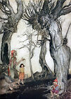 Arthur Rackham AESOPS FABLES THE TREES & THE AXE A4 or A5 Size Unframed