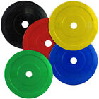 BODYRIP IWF COLOURED OLYMPIC BUMPER WEIGHT PLATES CROSSFIT POWERLIFTING MMA GYM