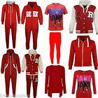 Kids Girls Boys RED NOSE DAY Onesie Hoodie Jacket T Shirt Legging Cardigan Top