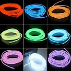 1M/2M/3M/5M 10 colors 5mm Highlight Neon EL Wire w Battery-powered Controller