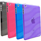 For Apple iPad Mini 1 2 Retina Display/3 TPU Transparent Rubber Skin Case Cover