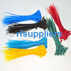 100x kinds of colorized Network Cable Wire Cord Electrical Strap Zip Tie Nylon