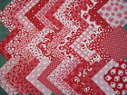30 x  4inch  cut squares 100% cotton fabric patchwork/quilting