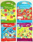 Children's Travel Magnetic Board Games Ludo Hangman Draughts or Snakes & Ladders