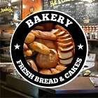 Bakery Fresh Bread Catering Sign Window Restaurant Stickers Graphics Vinyl Decal
