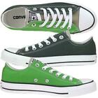 CONVERSE All Star Ox 142392 Turnschuh Sneaker privet/green/silver Gr.36-44