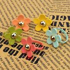 New Candy Color Cute Sweet Daisy Flower Five 5 Petal Rings Adjustable