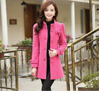 Spring New Winter Korean Women / Lady Fashion Bowknot Shitsuke Woollen Coat FREE