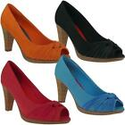 Jane Klain by IDANA Pumps Peeptoe in 4 Farben NEU Gr.36-42