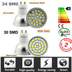 GU10 7W 10W SMD LED High Power Spot Light Lamp Bulb with Clear Cover 110-240V