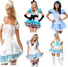 HOT Sexy Alice In Wonderland Maid Halloween Costume Fancy Dress Up Party Cosplay