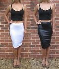 EXTRA LONG  for TALL Jersey Pencil Skirt MIDI Knee Length.