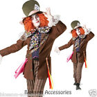 C694 Licensed Mad Hatter Alice in Wonderland Halloween Fancy Dress Adult Costume