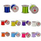 5Rolls 12 Metres Mixed Color Beading Crystal Wire Strong Stretch For Jewelry DIY