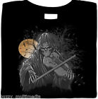 Grim Reaper Shirt, Mad Fiddler & Moon, eerie, goth, biker t-shirt